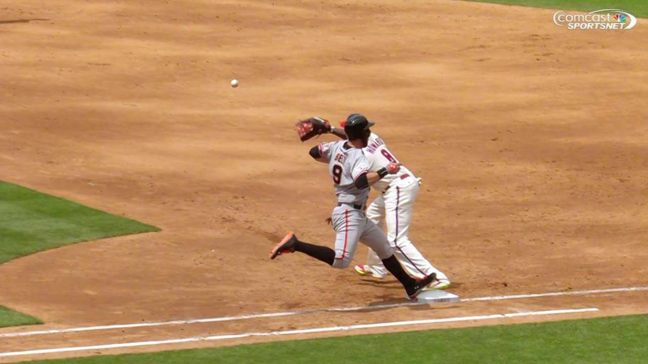 Belt's RBI groundout