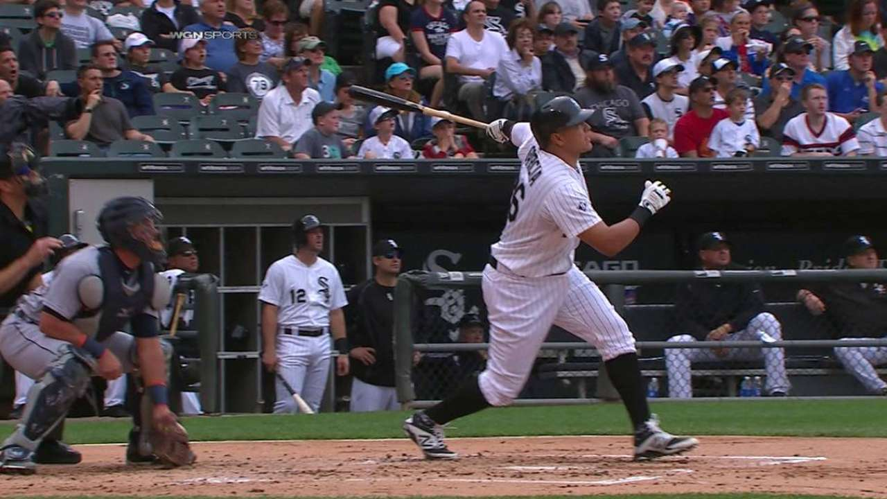 Garcia's three-run blast