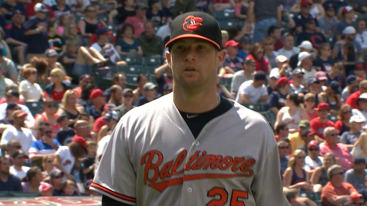Bats back Norris to take series over Tribe