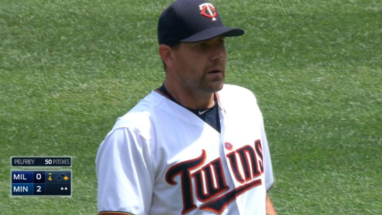Big start from Pelf helps Twins on many fronts