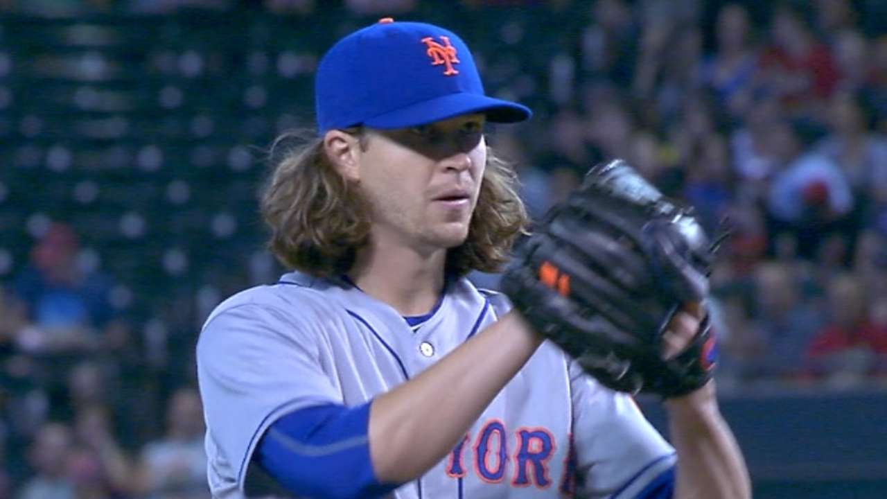 deGrom earns seventh win