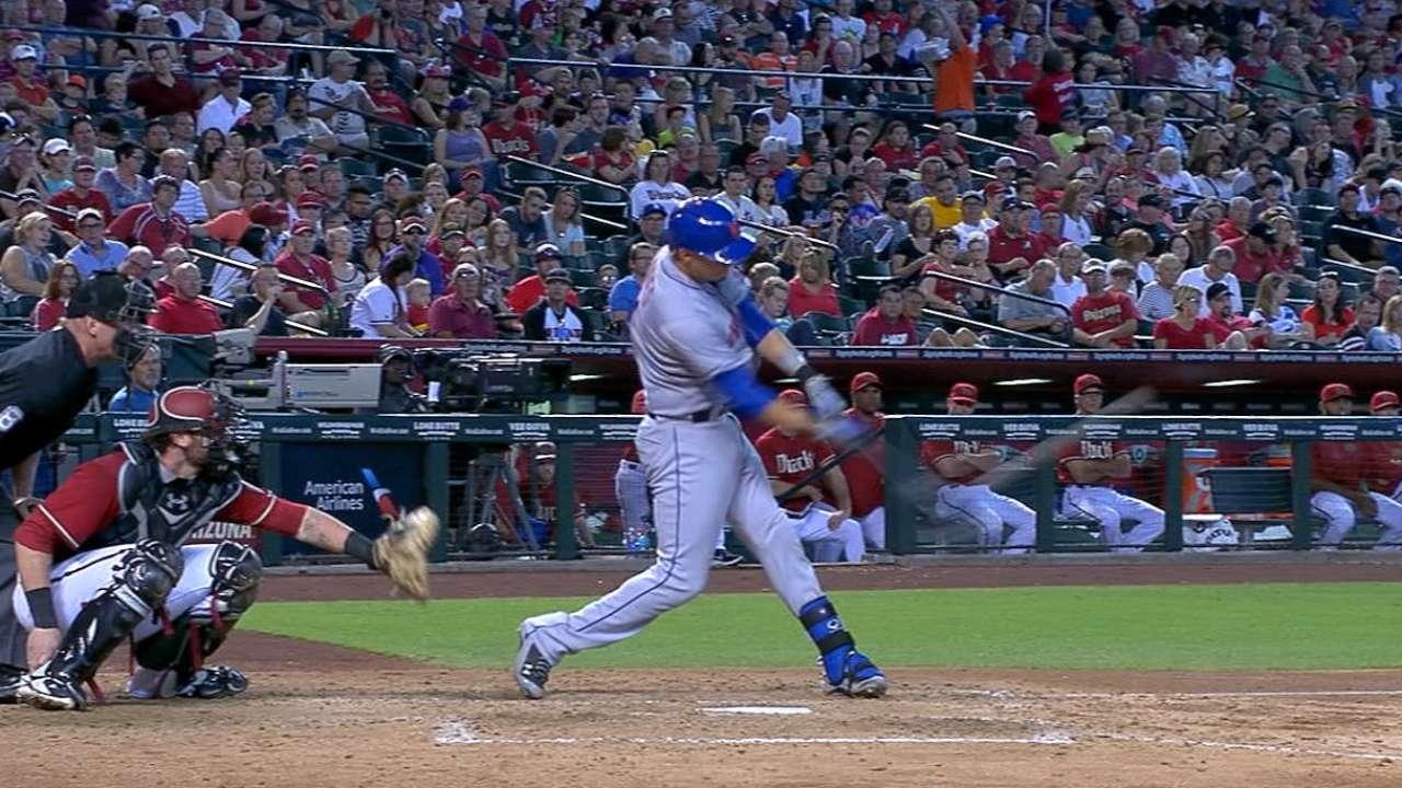 Cuadrangulares impulsaron a Mets sobre D-backs