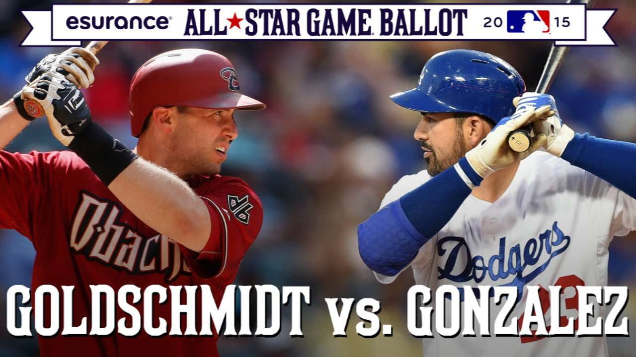ASG debate: Goldy or A-Gone at first in NL?