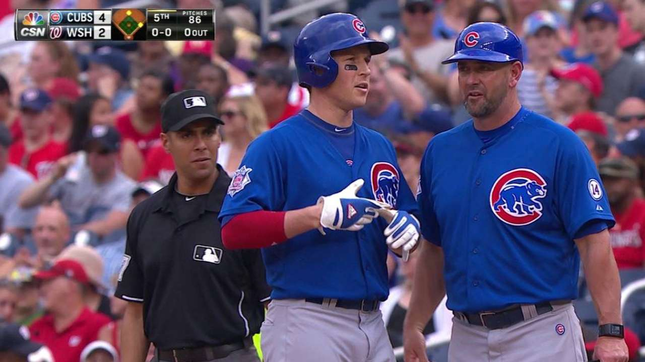 Cubs grind out third win in Washington