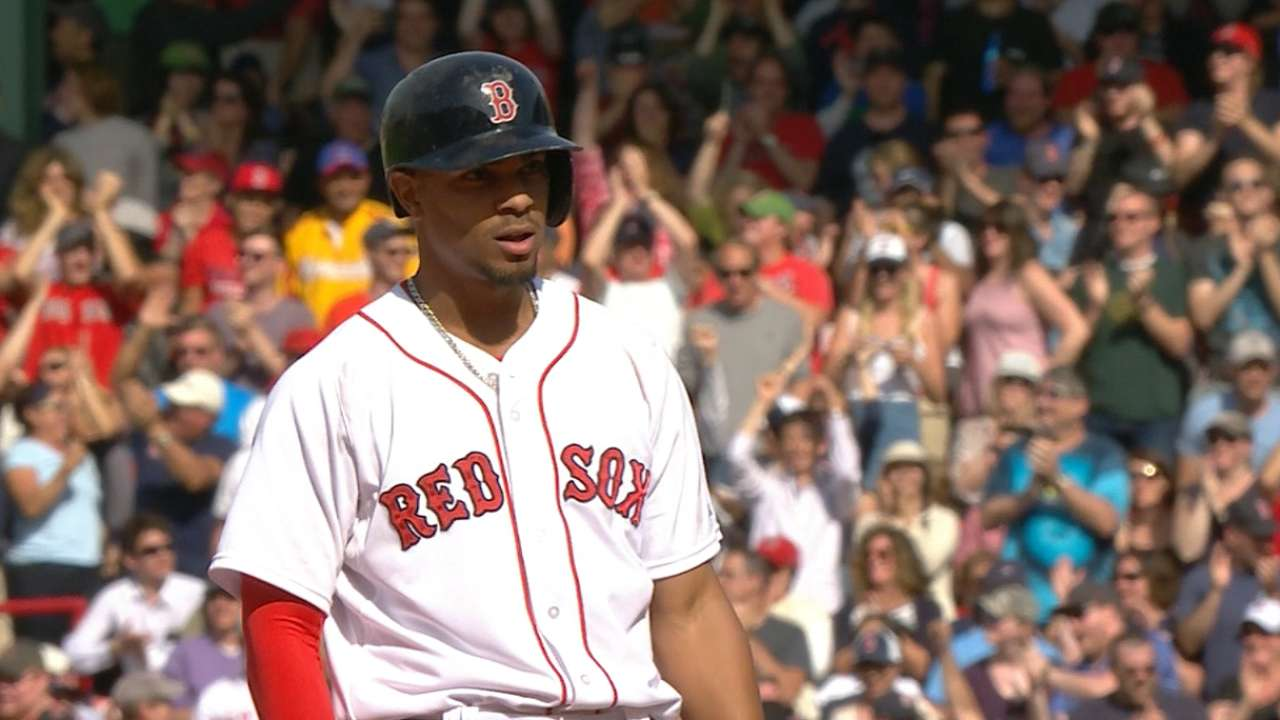 Red Sox stun A's with 7-run 8th to cap sweep