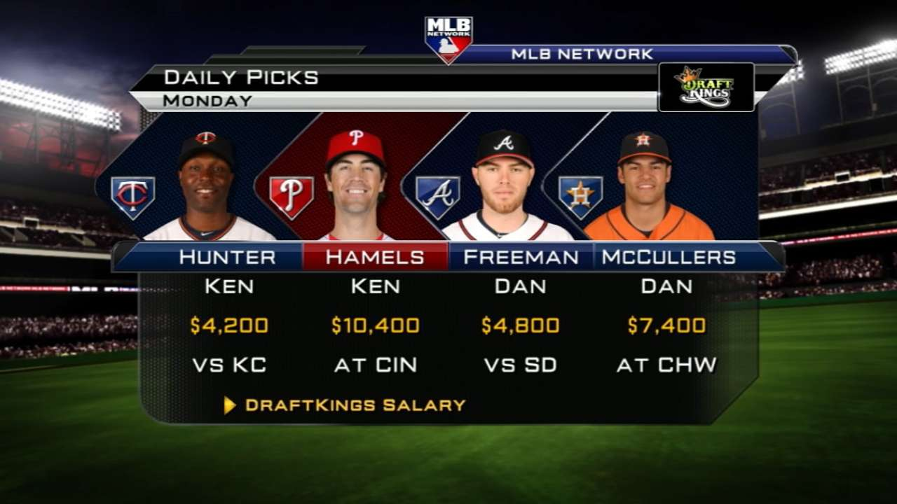 DraftKings picks: Cards can blast off at Coors