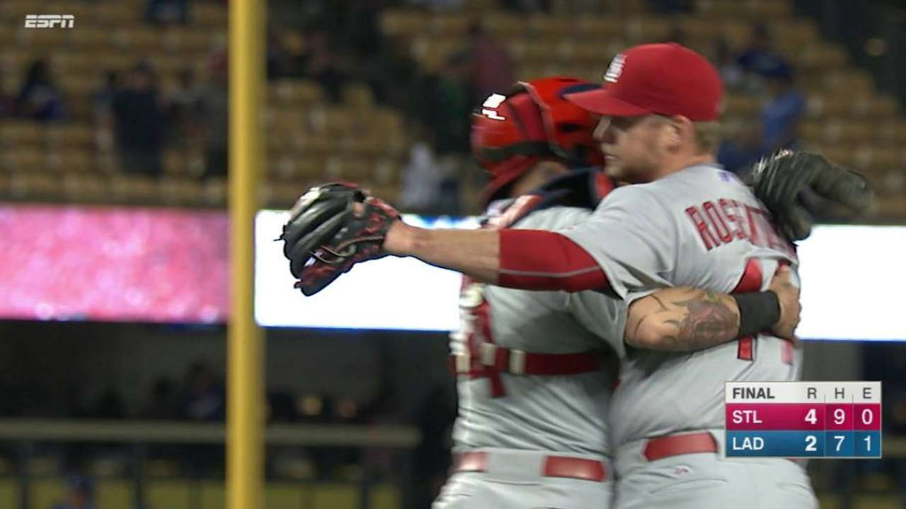 Bourjos' catch seals the win