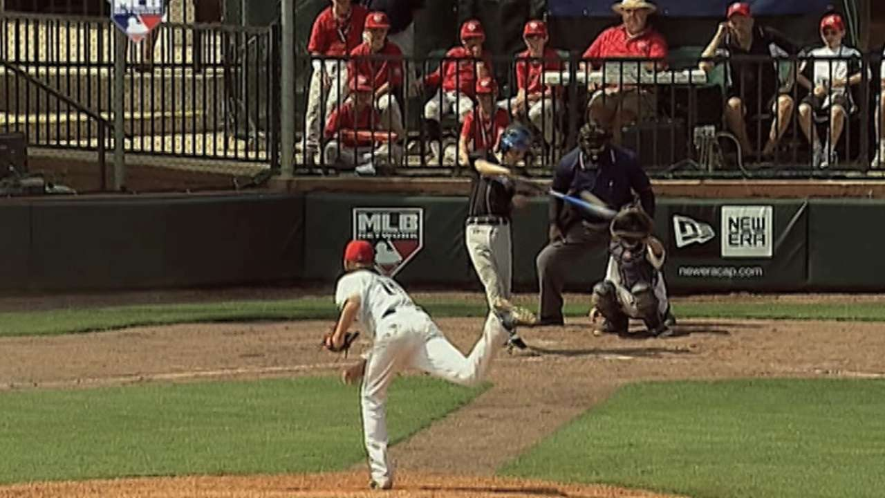 Tucker's big inning