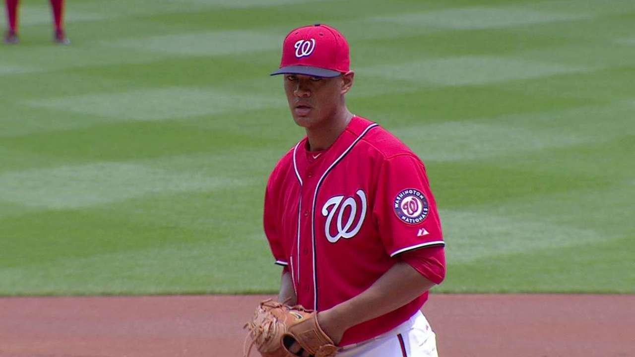 Ross carga con derrota en su debut en MLB