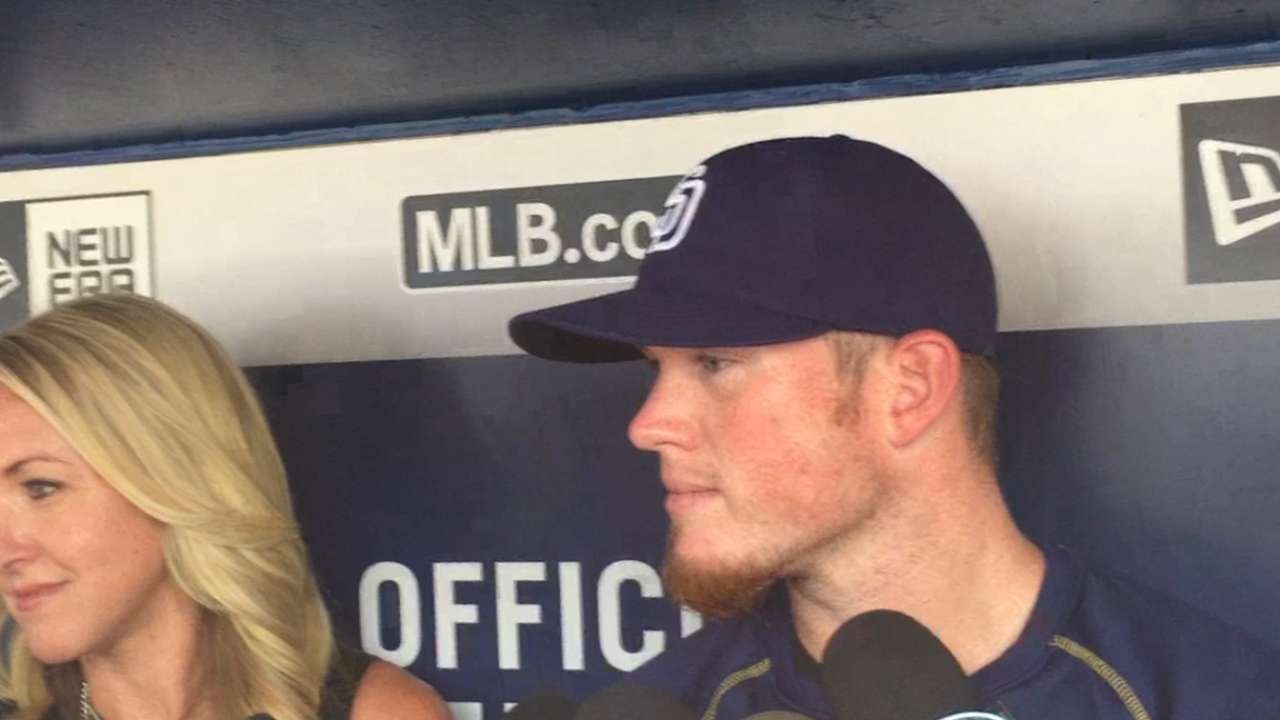 Familiar faces for Padres, Braves reunited