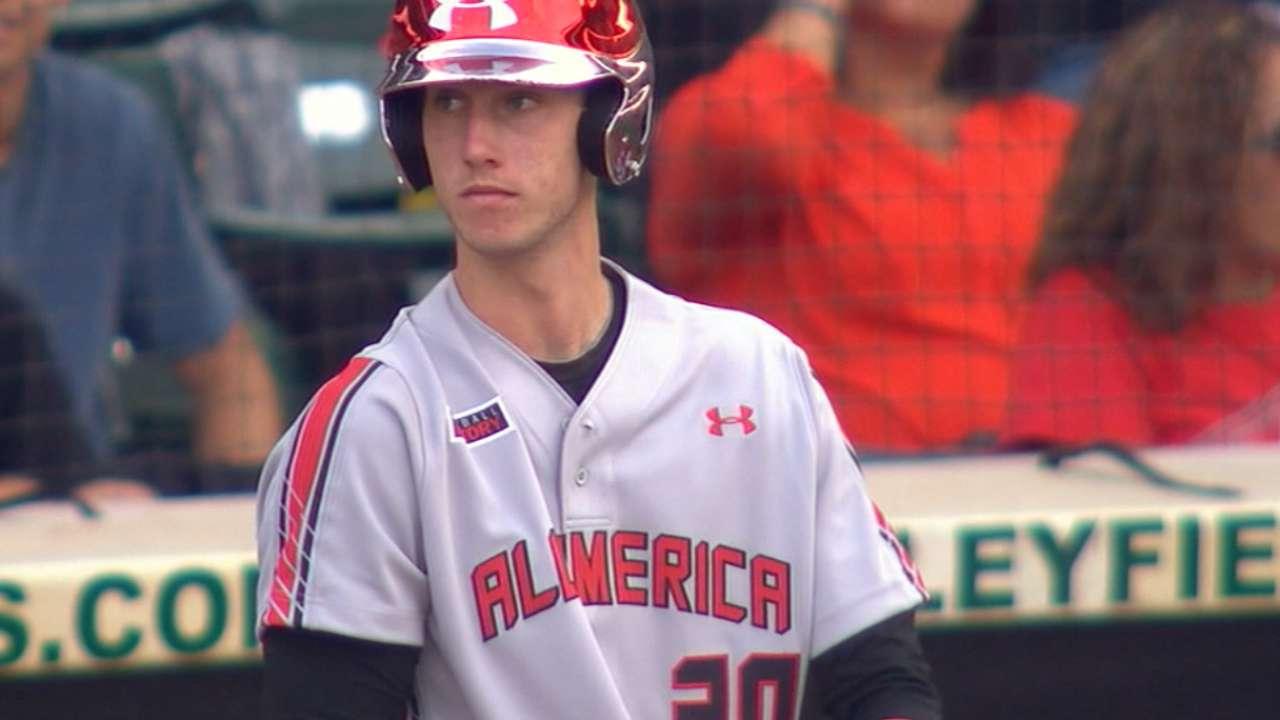 Family ties: Astros draft OF Tucker at No. 5