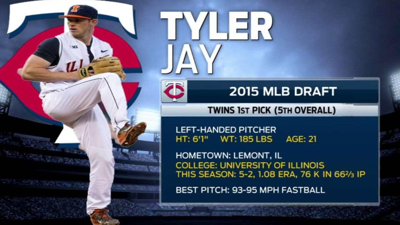 Johnson on Twins drafting Jay
