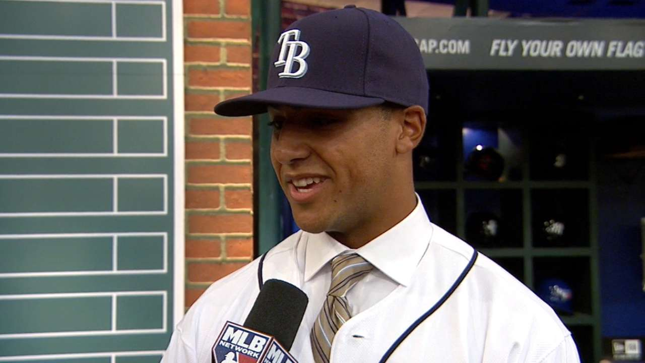 Whitley on going No. 13 overall