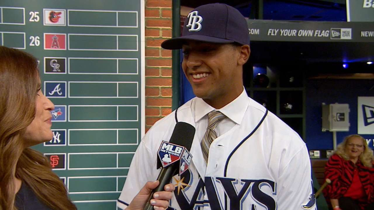 Whitley on MLB Draft honor