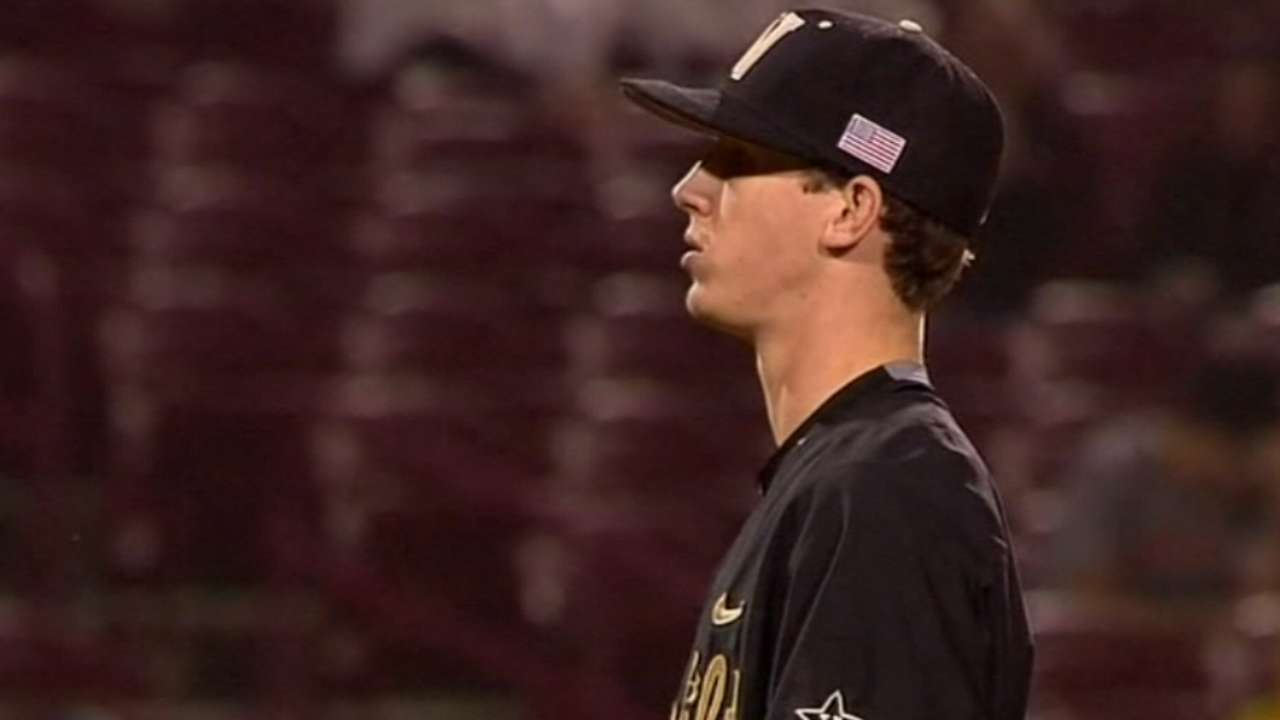 Dodgers draft RHP Buehler No. 24