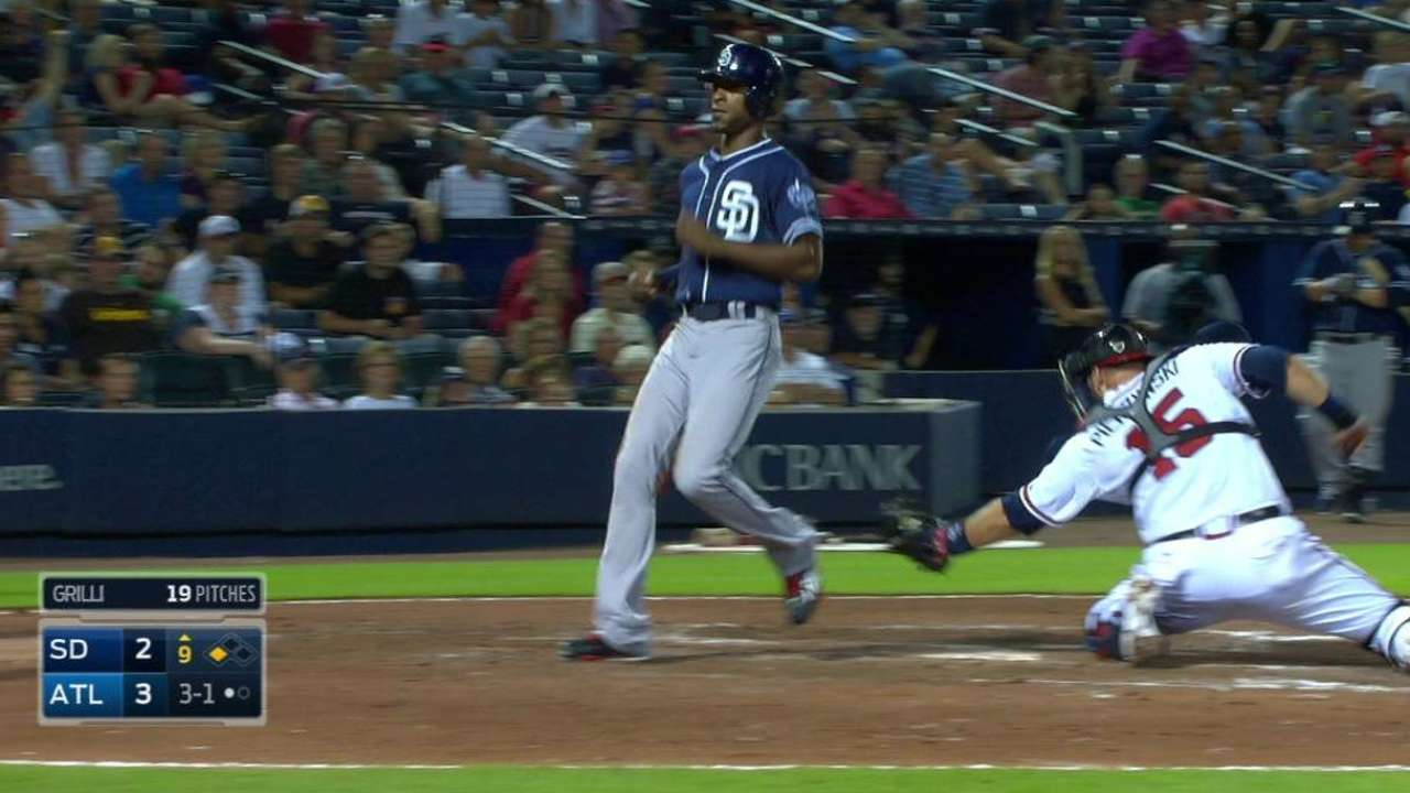 Spangenberg's sac fly in 9th