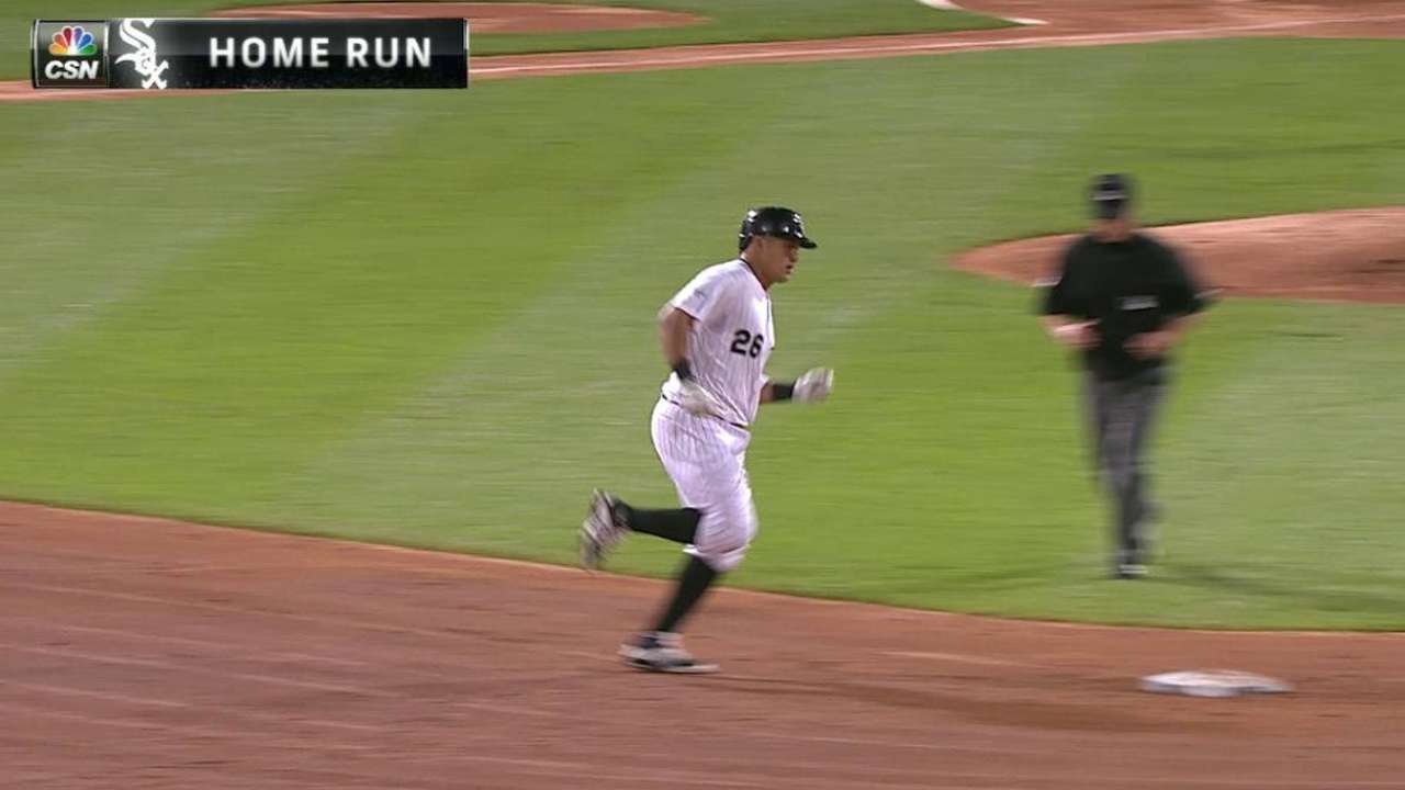 Garcia's two-run homer