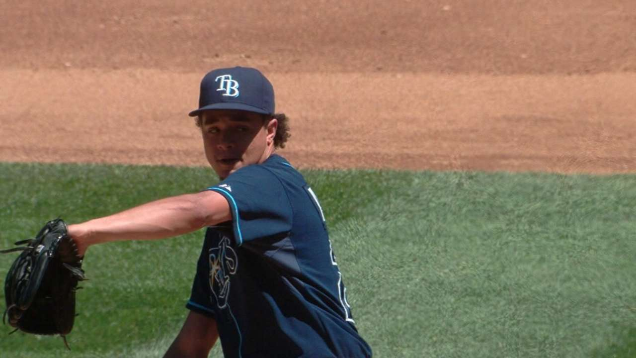 Archer's slider puts him in Cy Young discussion