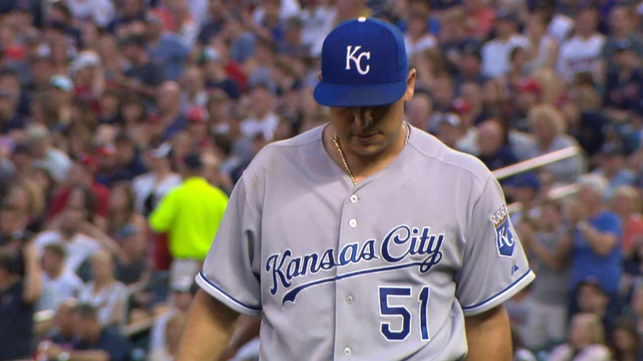 KC's Vargas: Too soon to think about '16 return