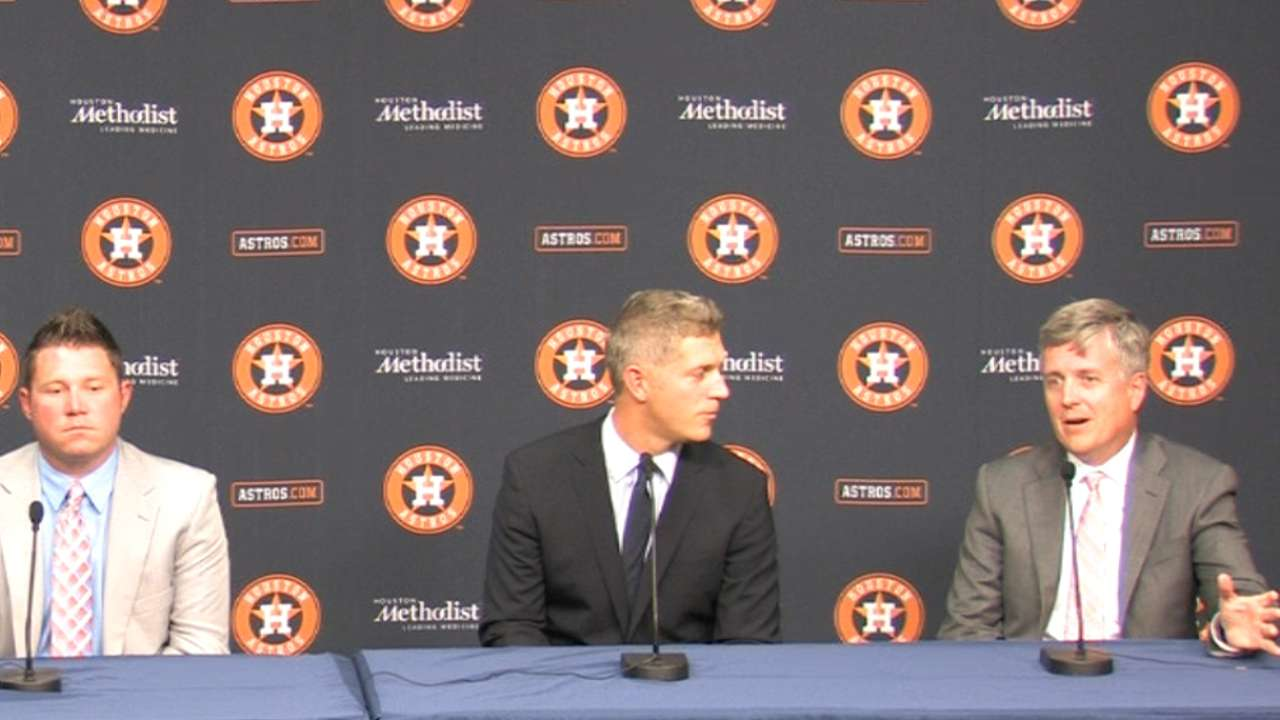 Astros on first round picks