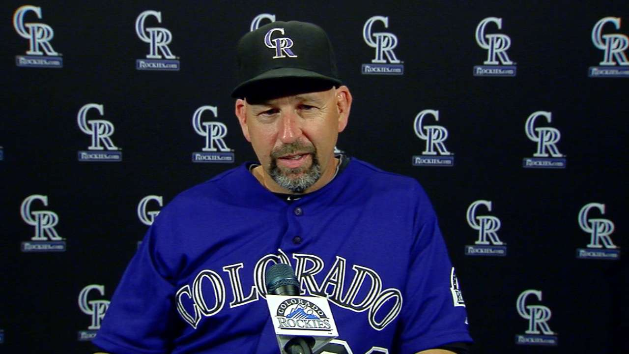 Weiss on Rockies' win and Hale
