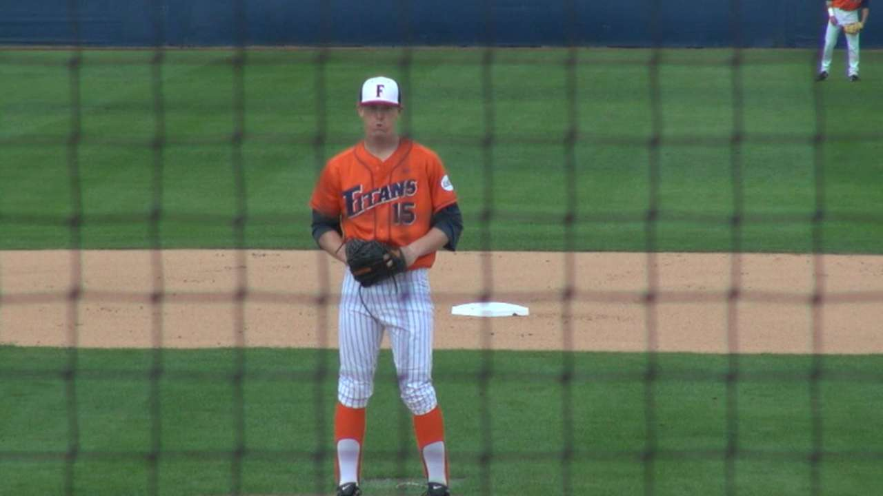 Eshelman drafted by Astros on memorable night