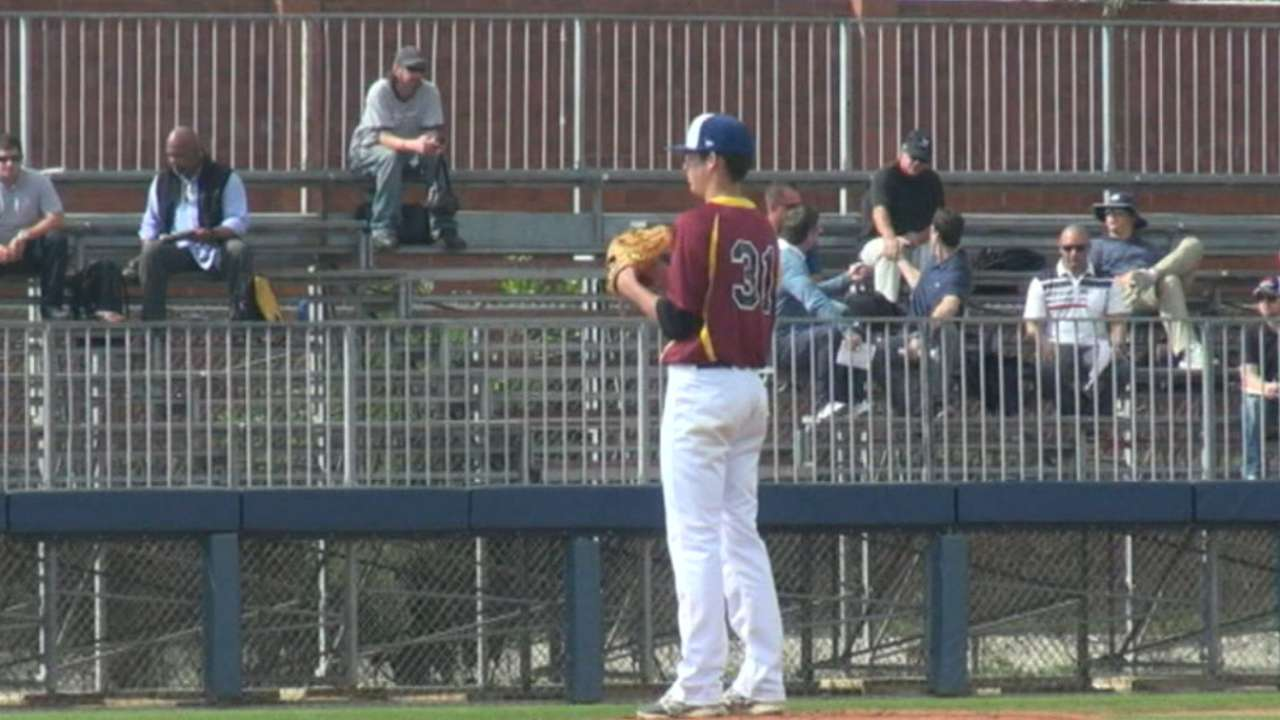 Rox round out Day 1 with HS hurler Lambert