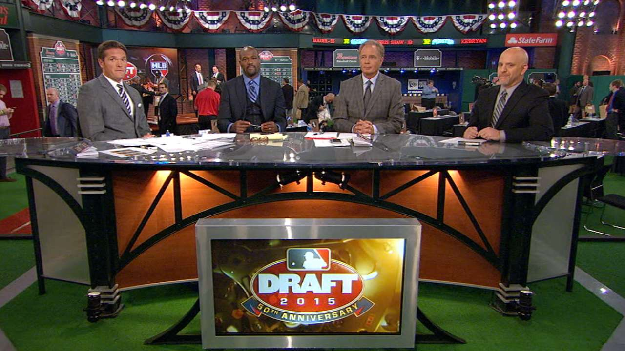 Shortstop trio atop Draft makes history