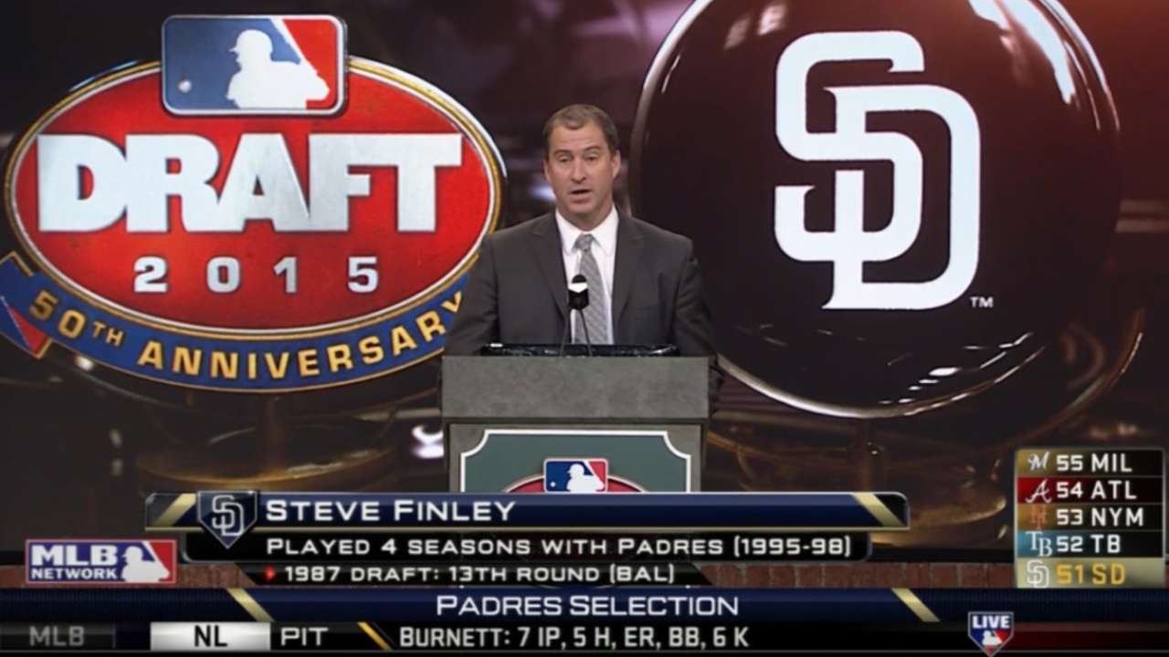 6/8/15 - Padres Draft