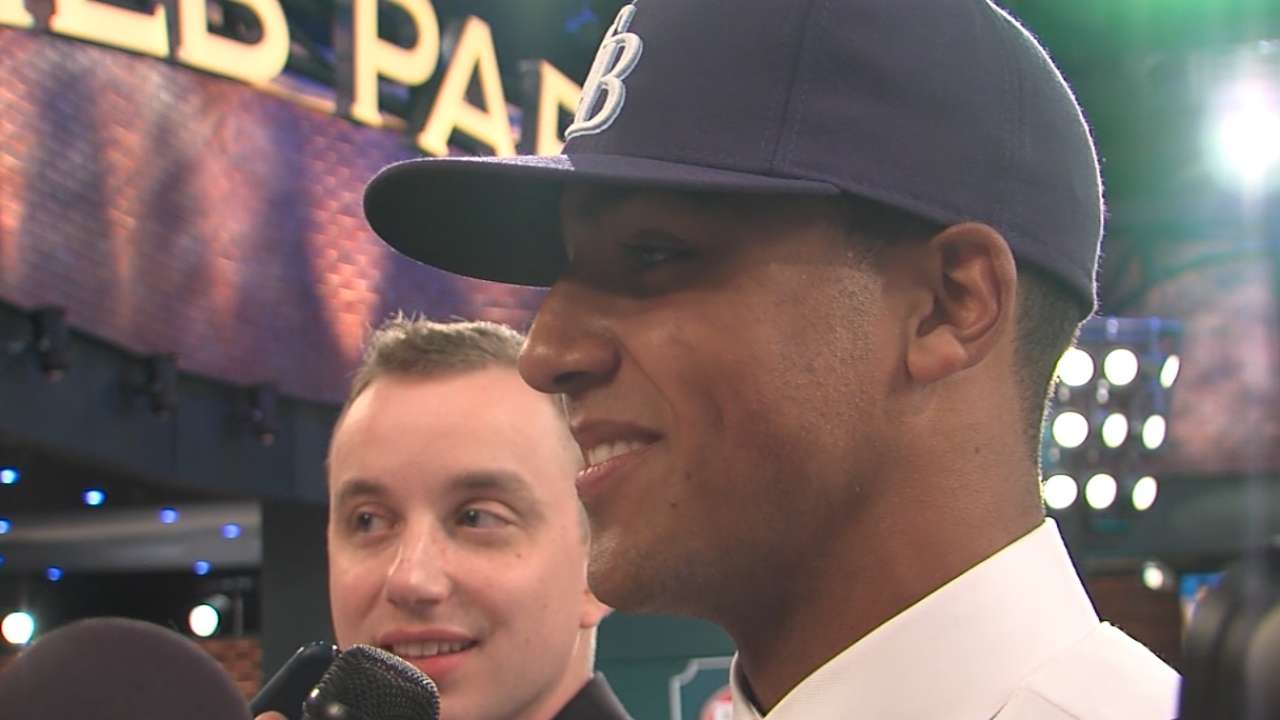 Whitley on his Draft experience