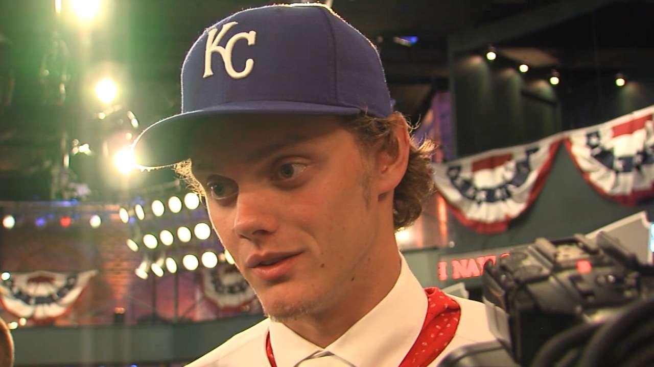Royals select friendly rivals atop MLB Draft