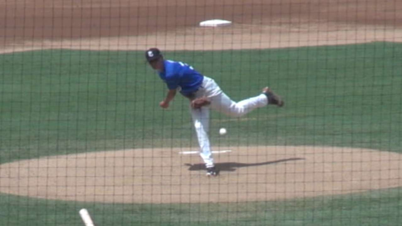 Mets draft LHP Wotell No. 88