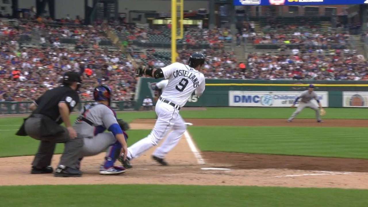 Tigers being patient with Castellanos