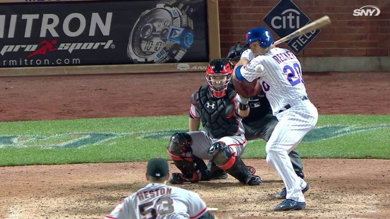 Mets give credit to crafty Heston after no-no