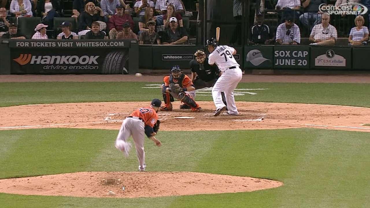 Abreu's two-run homer