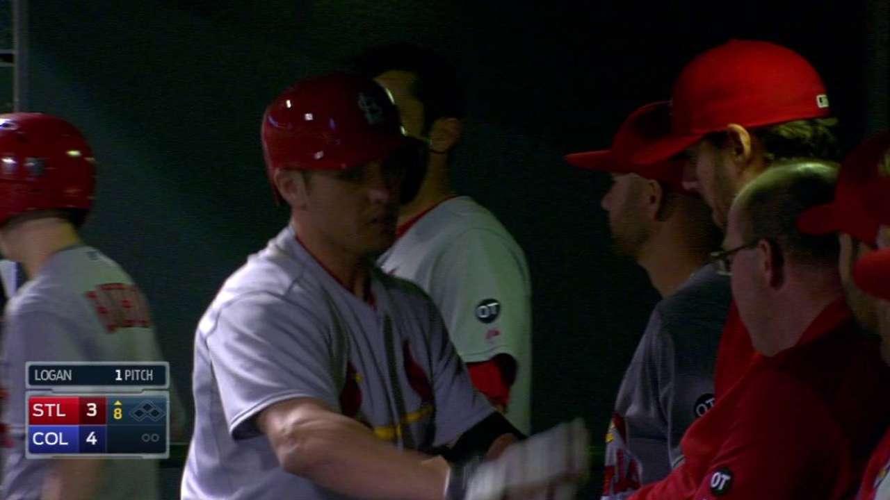 Bourjos' solo home run