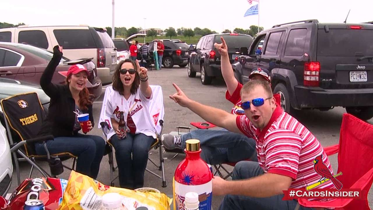 Cardinals-Royals has become a showdown