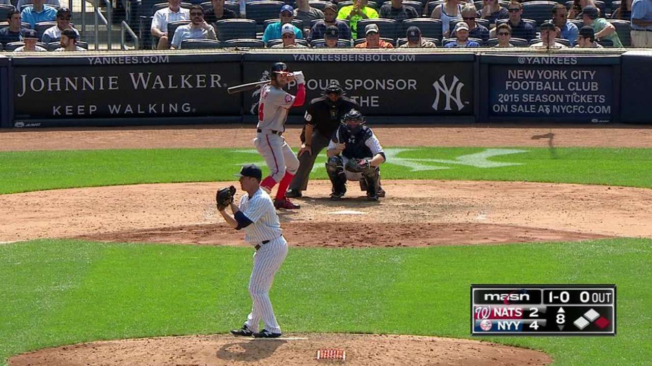 Youth served: Harper faces younger pitcher