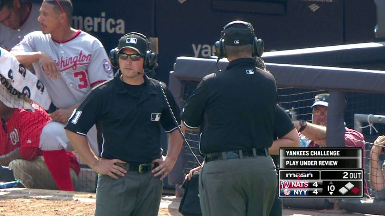 Out call at second stands