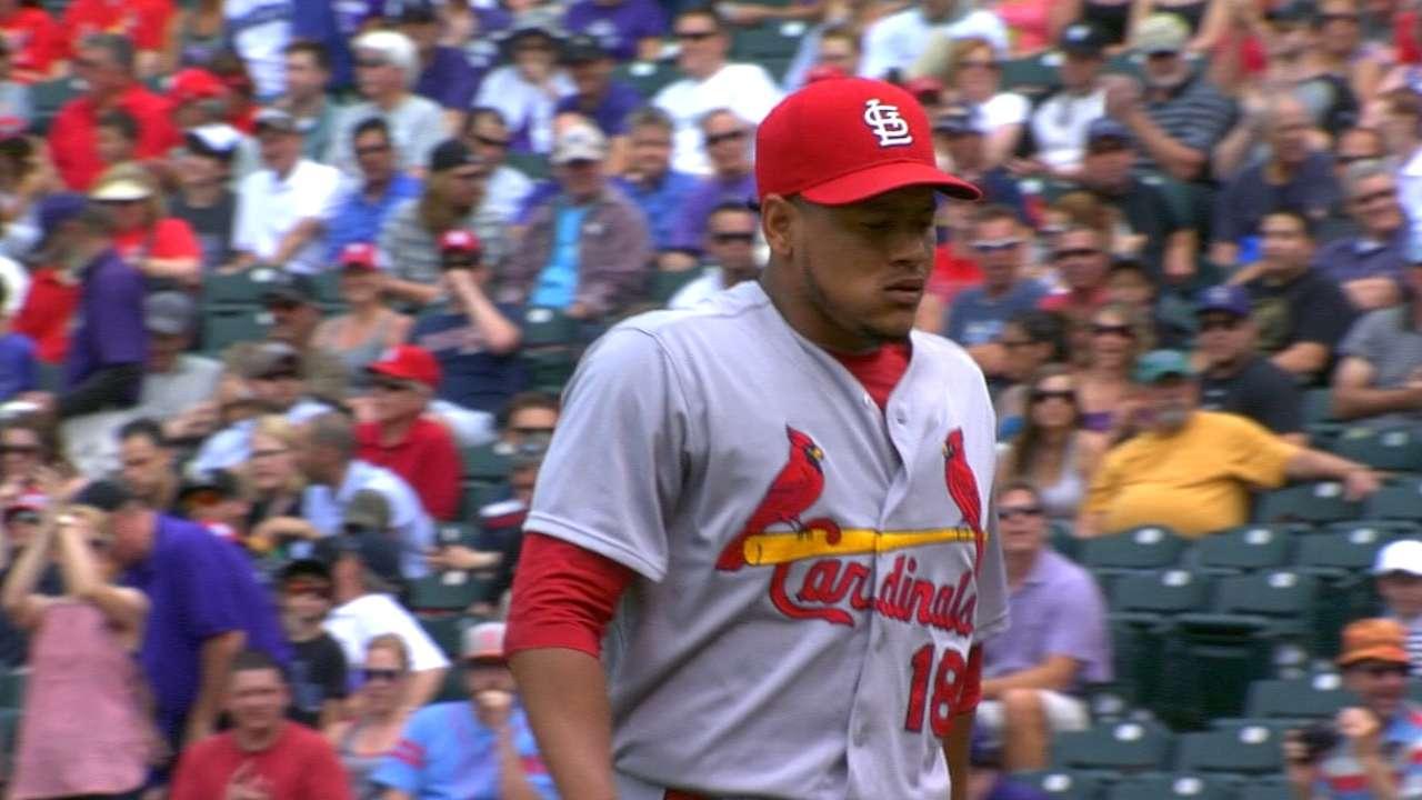 Martinez's 6 1/3 innings