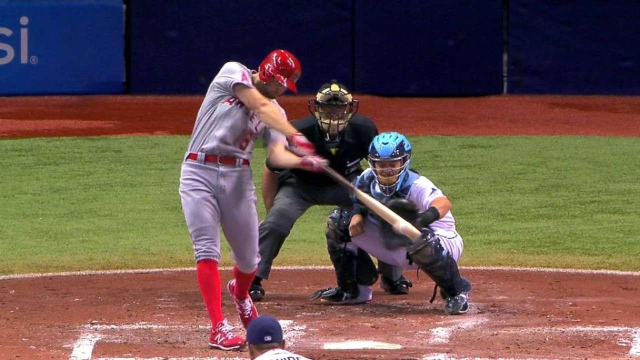 Kubitza's first MLB hit