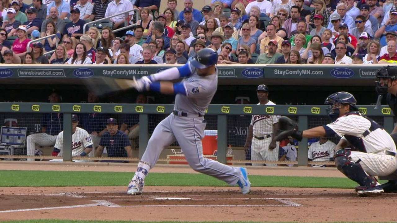 Royals raise division lead by sweeping Twins