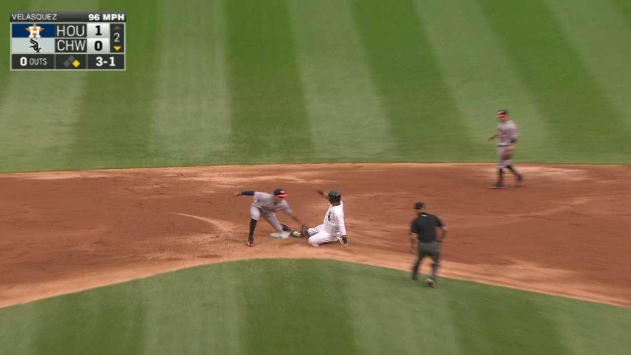 Castro throws out Garcia
