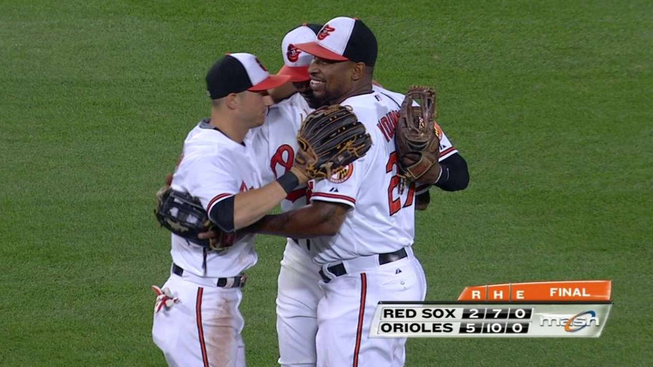 O'Day's two-inning save
