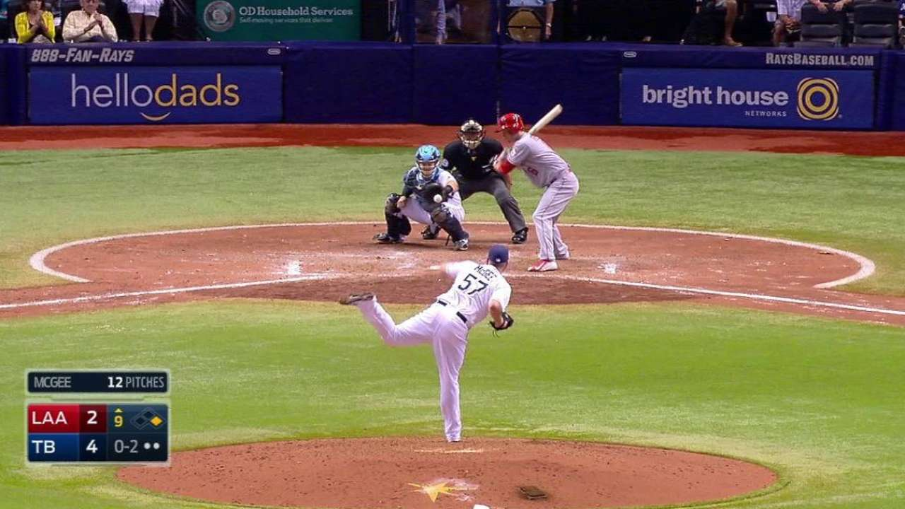 McGee notches save