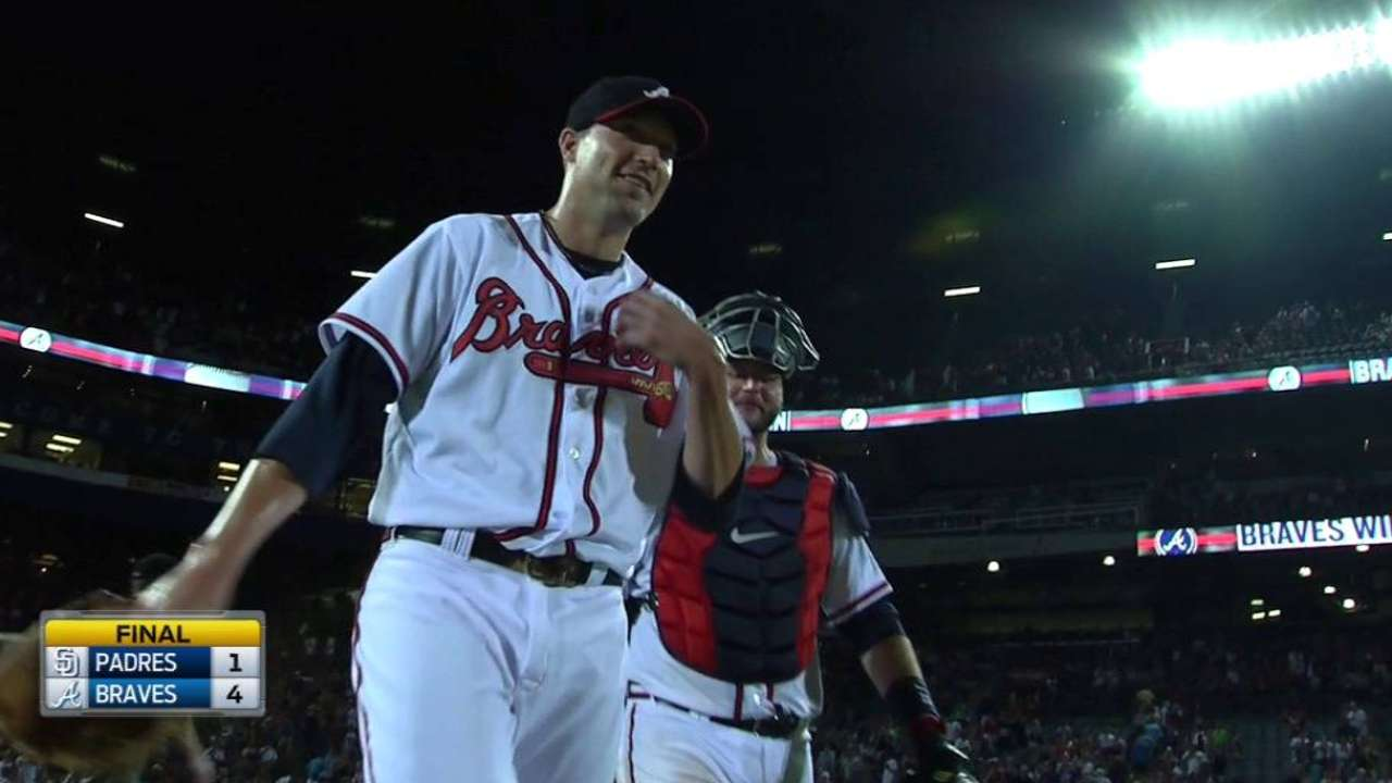 Braves in contention after 'reset'