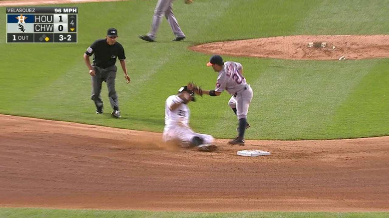 Astros pierden el 7mo consecutivo vs. Medias Blancas