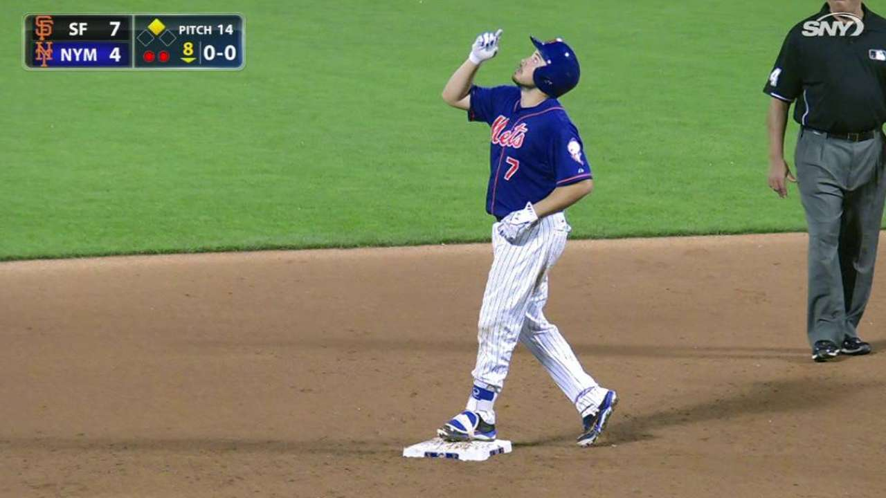 d'Arnaud productive in return from disabled list