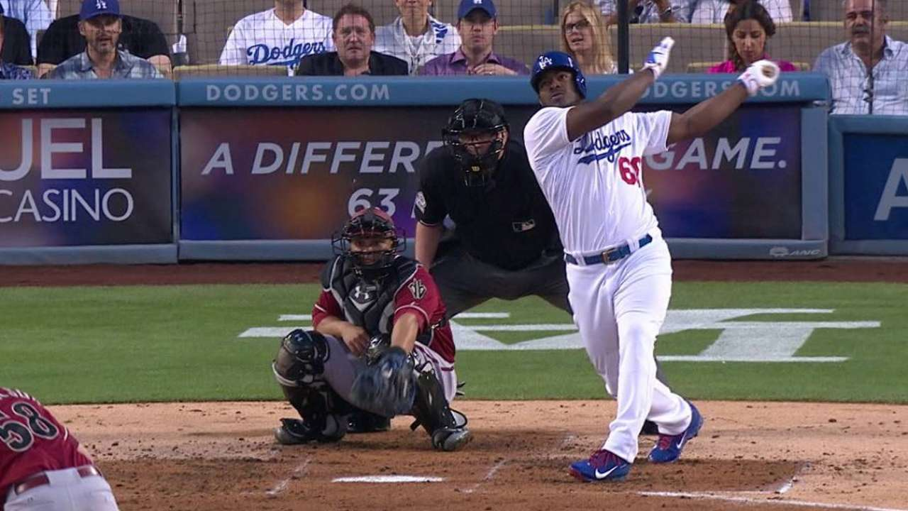 Sarah's Take: Puig just what Dodgers need