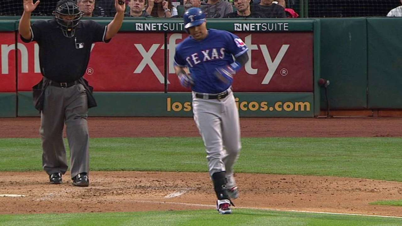 Martin's RBI hit-by-pitch